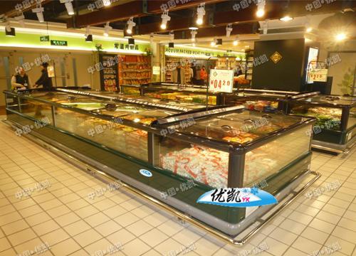 超市速冻岛柜